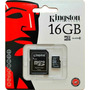 Memoria Microsd 16gb Kingston 100% Original Celular Tablet