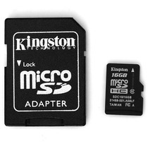 Kingston 16gb Clase 10 De La Venta Caliente Micro Sd / Tarje