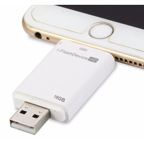 Iflash Memoria Externa Para Ipad Y Iphone 16gb