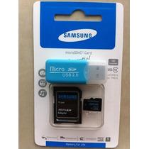 Targeta De Memoria Micro Sd De 32 Gb Con Adaptador Y Lector