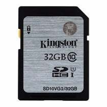 Memoria Sd Hx Clase 10 32gb 45mb/s Kingston Sd10vg2/32gb