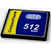Tarjeta Compact Flash De 512 Mb. Marca Atp