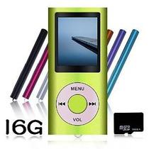 Tomameri 16 Gb Micro Sd Card Mp4 Portátil De Dvd Reproductor