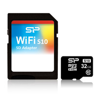 Silicon Power Adaptador Sd Wifi S10 32gb Microsd Ios Android