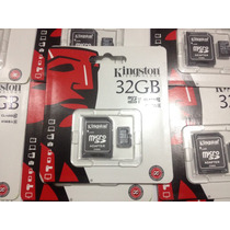 Micro Sd Kingston De 32gb Clase 10 A 45 Mb/s R Uhs-1 Full Hd