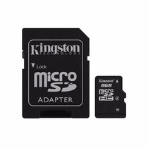 Memoria Kingston Micro Sd 8gb Clase 4 Alta Capacidad