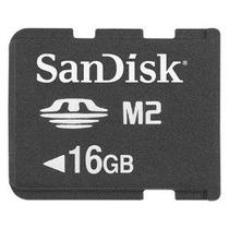 16gb Sandisk M2 Memory Stick Micro (sdmsm2-016g-k Paquete A