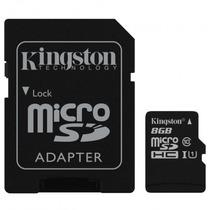 Memoria Micro Sdhc 8g Xc Clase 10 C/a Sdc10g2/8gb Kingston