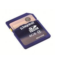 Secure Digital (sd) 4gb Kingston High-capacity +c+