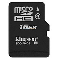 Memoria Micro Sd 16 Gb Kingston Celulares Camaras Digitales
