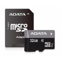 Memoria Micro Sd Hc Uhs-i 32gb Adata Clase 10 Garantia
