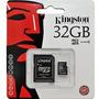 Memoria Micro Sd 32gb Kingston Cl4 Puebla