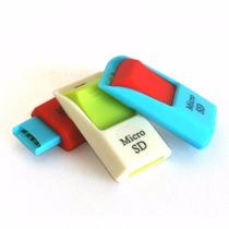 Paquete De 10 Adaptadores Micro Sd A Usb
