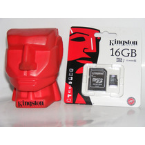 Memoria Micro Sd Kingston 16gb Clase 10