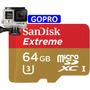 Memoria Micro Sd Xc Sandisk Extreme 64gb U3 C-10 Uhs-i Gopro