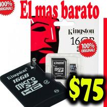 Memoria Micro Sd16gb Kingston Nueva Y Original En Empaque