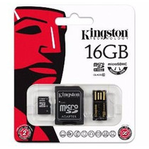 Memoria Micro Sd Xc 16gb Kingston Clase 10 Garantia De Vida