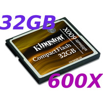 Memoria Compact Flash 32 Gb Kingston Nueva Ultimate 600x