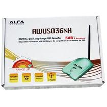 Antena Alfa Awus036nh 5dbi 1 Watt Incluye Cd Beini