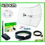 Antena Rejilla + Usb Rompemuros + Pigtail + Cable Sma+ Beini