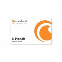 Crunchyroll Premium 12 Meses Targeta Prepago(sin Compartir)