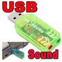 Tarjeta De Sonido Usb Audio 5.1 Digital 3d Pc Laptop Op4