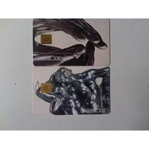 A. Rodin Lote De 2 Tarjetas Telefónicas Ladatel Mexico