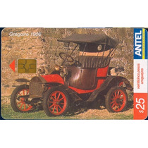 Tarj Uruguay Coche Antiguo Gregoire 1906