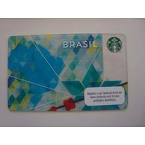 Tarjeta De Starbucks Brasil