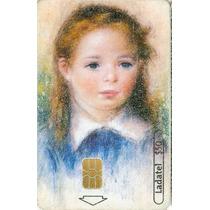 Tarj Seis Siglos De Arte Renoir Retrato De Una Niña