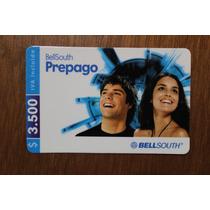 Una. Tarjeta De Prepago Bell-south