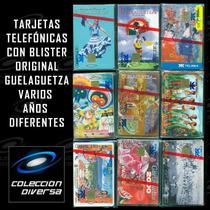 Lote Guelaguetza Blister Original Tarjetas Telefónicas