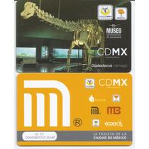 Tarjeta Del Metro - Conmemorativa - Museo Historia Natural