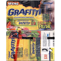 * Tarjeta Telefónica Grafitti Con Scratch Nueva En Blister
