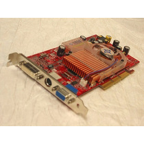 Tarjeta De Video Nvidia Geforce Fx5600 Agp 128mb Vga Dvi Sv