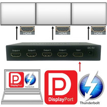 Adaptador Laptop Video-wall Win I-mac Macbook-pro Hasta 4 Tv