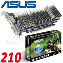 Tarjeta Video Asus Nvidia 210 Silent 1gb Ddr3 Pci-e Hdmi
