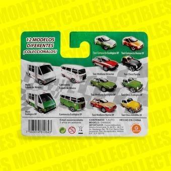 Taxi Mania Vocho Taxi Puebla Negro Tipo Hot Wheels