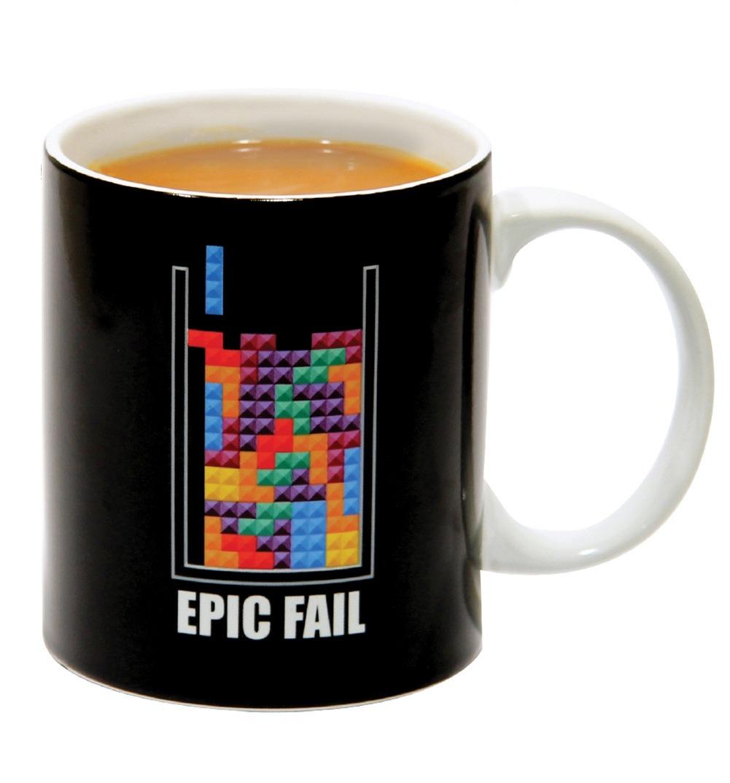 Taza de tetris original termica epic fail oficial original - Taza termica para cafe ...