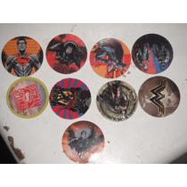 Tazos Batman Vs Superman,tazos Hanna Barbera,sabritas,dc