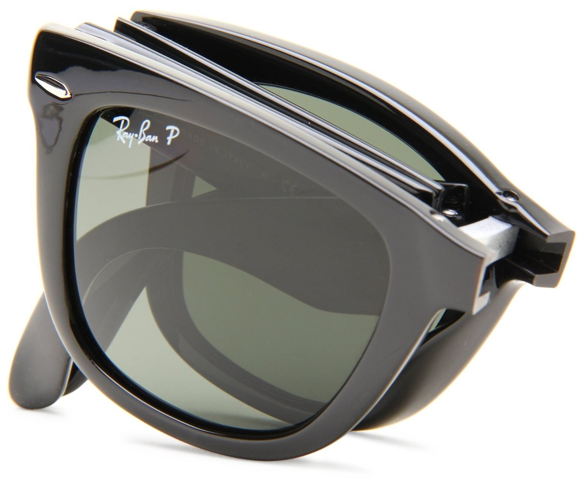 polarized ray ban wayfarers  Ray Ban Folding Wayfarer Polarized - Ficts