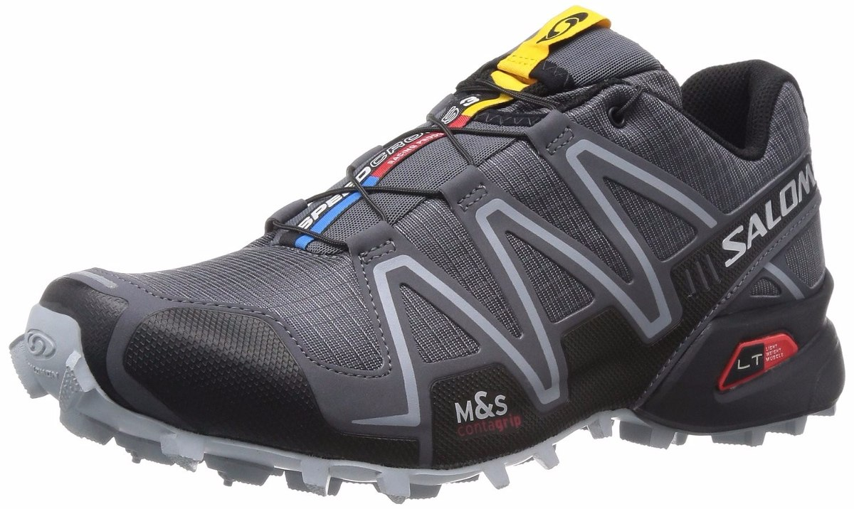 tb salomon mens speedcross 3 trail running shoe 4 en mercadolibre. Black Bedroom Furniture Sets. Home Design Ideas