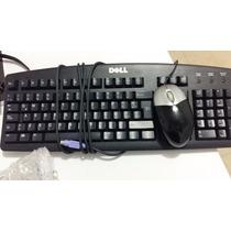 Teclado Y Mouse Dell Hp Ps2 Mini-din