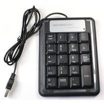 Teclado Numerico Usb Durable Pc Laptop Computadoras