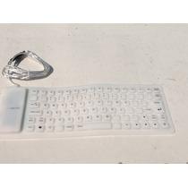 Teclado Flexible Usb Pc Laptop Etc Barato