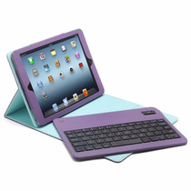 Teclado Bluetooth Aduro Con Funda Para Ipad Air