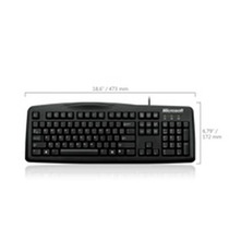 Teclado Microsoft Wired 200 Usb Spanish Negro For Business 6