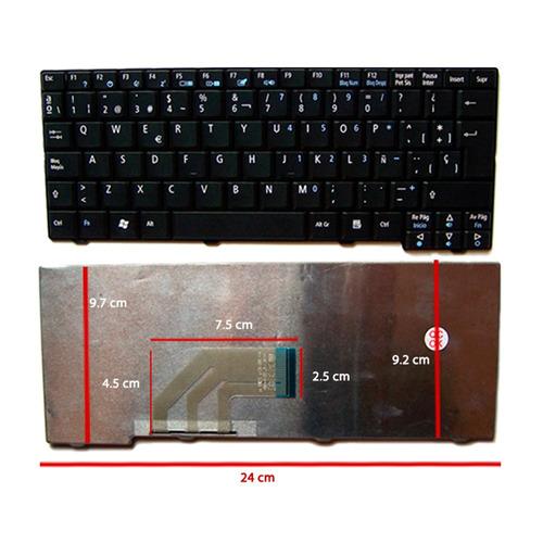 Teclado Acer Aspire One Negro 8 A 10.1 En Español Original