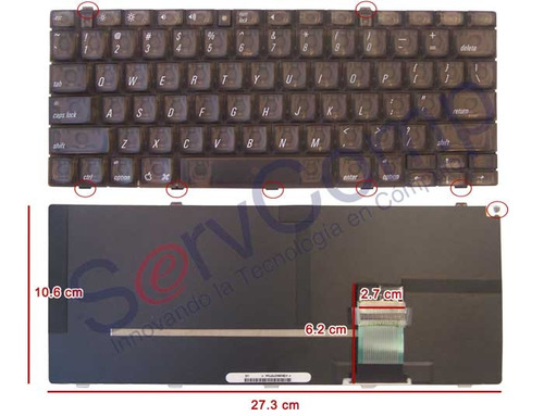 Teclado Apple Powerbook G3 Hlw