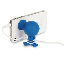 Sostiene Celular Y Cable En Forma Nuevo Practico